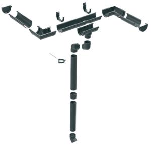 Пластикова водостічна система ProAqua