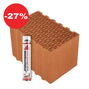 Керамічний блок Porotherm 38K Dryfix
