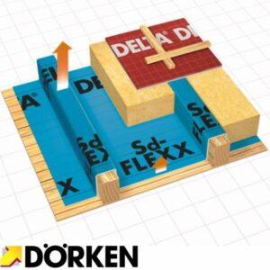 Плівка для пароізоляції delta sd flexx