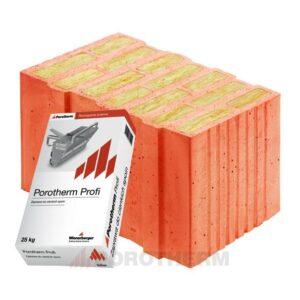 Керамічні блоки Porotherm Profi
