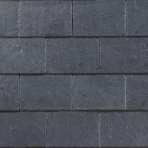 Сланцева покрівля Кладка прямокутними плитками