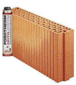 Керамічний блок Porotherm 11,5 Dryfix