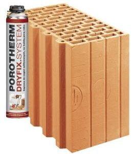 Керамічний блок Porotherm 30R Dryfix