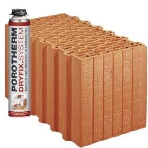 Керамічний блок Porotherm 38 Dryfix