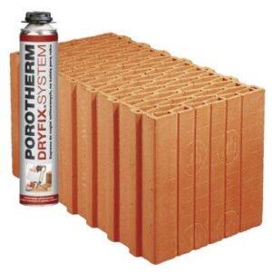 Керамічні блоки Porotherm Dryfix