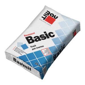Клейова суміш для керамічної плитки Baumit Basic