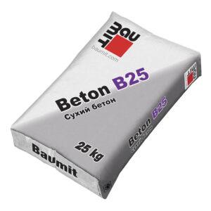 Модифікована бетонна суміш Baumit Beton B25
