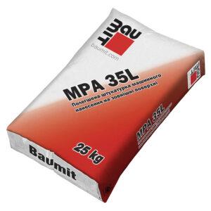 Полегшена штукатурна суміш Baumit MPA 35 L