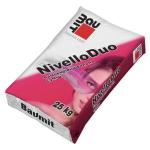 Нівелююча суміш для підлог Baumit Nivello Duo