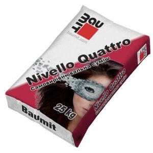 Нівелююча суміш для підлог Baumit Nivello Quattro