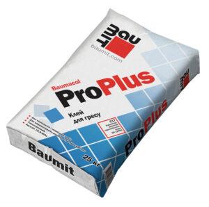 Клейова суміш для облицювання керамогранітними плитками Baumit ProPlus