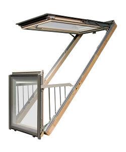 Вікно-балкон Galeria